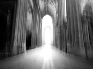 Turns out Old Gods keep their cathedrals <i>inside</i>...